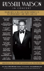 Russell Watson Tour Dates For