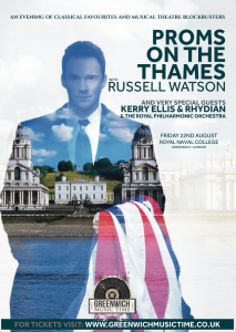 PROMS ON THE THAMES – OLD ROYAL NAVAL COLLEGE