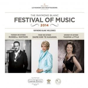 THE RAYMOND BLANC FESTIVAL OF MUSIC 2014 – RUSSELL WATSON