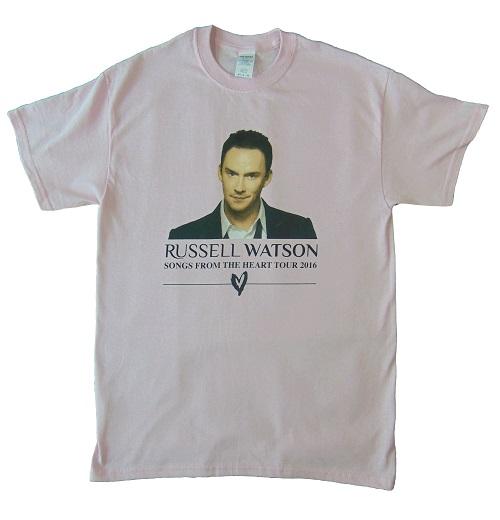 Tour T Shirt Pink Front