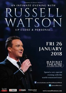 Up Close and Personal with Russell Watson in Dubai