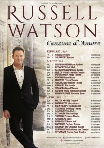 Russell WatsonCanzoni D'Amore Tour 2018