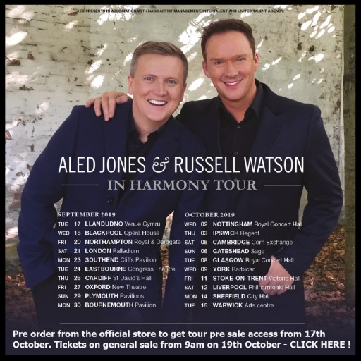 Aled And Russell - In Harmony