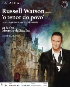 Russell Watson at Batalha – Portugal